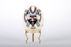 painted ostrich eggs for sale mazo painted ostrich egg collection for sale