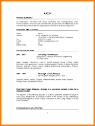 resume samples with references 6 resume example for fresh graduate nanny resumed 6 resume example for fresh graduate
