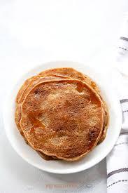 cuisine pancake eggless banana pancake recipe healthy whole wheat banana pancake