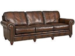 western leather sofa vintage italian distressed leather sofa at 1stdibs distressed