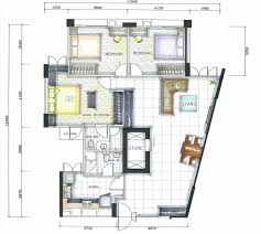 home decoration suite master bedroom floor plans with furniture