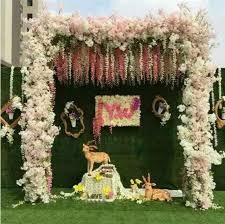 wedding arch no flowers 10pc flowers no vase wedding decoration props large cherry tree