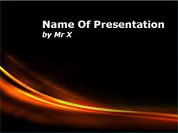 of fire powerpoint template