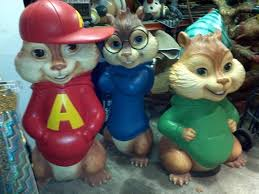 alvin chipmunks theater lobby display obnoxious antiques