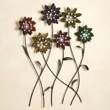 awesome metal wall decor flowers gallery home design ideas metal art wall decor foter home set of 2 metal wire and woven cord
