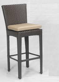 Modern Wicker Patio Furniture Bar Stools Wicker Patio Bar Furniture Set Outdoor Stools Indoor