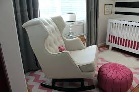 Leather Rocking Chairs For Nursery White Leather Rocking Chair Size Of Luxury Ite Rocking Chair