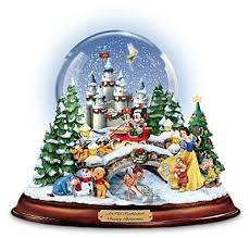disney figures snow globe musical snowglobe showcasing 13 classic