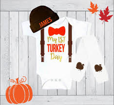 thanksgiving baby thanksgiving fall boy tie bodysuit with