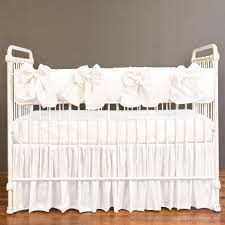 serafina crib rail cover white