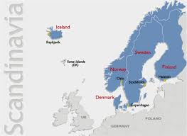 map of europe scandinavia map scandinavian solutions travel tours