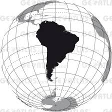 South America Map Countries Geoatlas Countries South America Map City Illustrator Fully