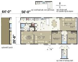 kitchen floor plans with islands floor plans new moon a 45633 manufactured and modular homes