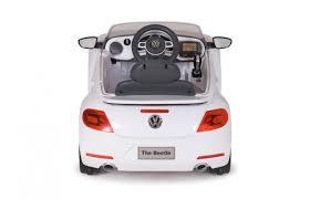 volkswagen beetle white ride on vw beetle white 27mhz 6v jamara shop