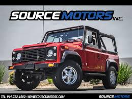 new land rover defender 2013 land rover defender 90 1994 base ebay