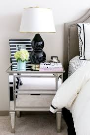 Mirrored Furniture For Bedroom by Best 25 Mirrored Side Tables Ideas On Pinterest Mirror