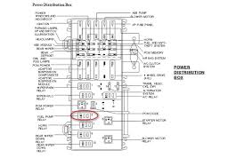 1998 ford explorer fuse diagram where is the fuel relay on a 1998 ford explorer