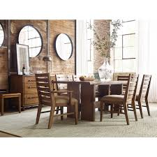 Kincaid Dining Room Furniture Cutler Live Edge Trestle Dining Table By Kincaid Furniture Wolf