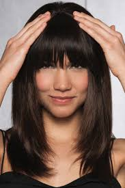 clip in fringe clip in human hair fringe bangs by hairdo wigs