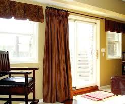 Sliding Door Curtain Ideas Kitchen Patio Door Window Treatments Get Sliding Glass Door