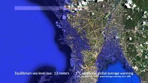 Florida Sea Level Rise Map by Manila Sea Level Rise Youtube