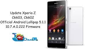 update sony xperia z c6602 c6603 official android 5 1 1 10 7 a