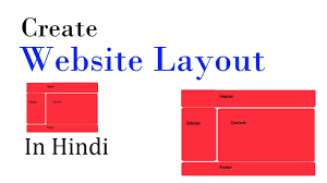 website layout using div and css create website layout using html and css very easy tutorial hindi