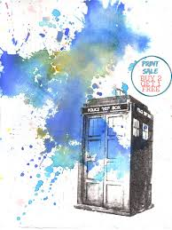 doctor who poster print tardis art print great doctor who gift