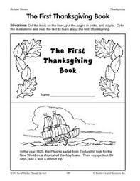 the thanksgiving book printables template for pre k 1st