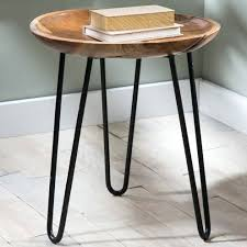 Small Metal Accent Table Side Table Metal Wood Side Table Small Metal Patio Side Tables