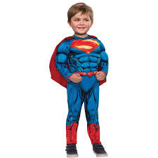 Halloween Costumes Toddler Boy Superman Fiber Fill Boys Toddler Halloween Costume Walmart