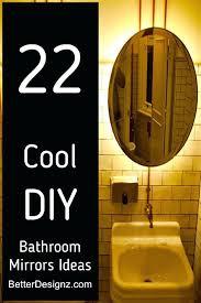 Diy Bathroom Mirror Ideas Cool Bathroom Mirror Ideas Bathroom Fetching Large Wall Bathroom