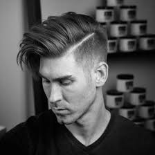 black people short hair cut with part down the middle hairstyles for men with long hair 2018