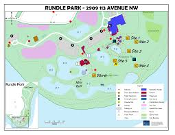 Map Of Edmonton Canada by Rundle Park City Of Edmonton