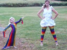 Mother Daughter Matching Halloween Costumes Mommy Halloween Costumes Cloud Rainbow Matching