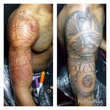 freehand tattoo game atlanta youtube
