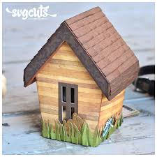 doggie house gift box by thienly azim svgcuts com blog