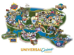 Orlando Florida Map Universal Orlando 3 Park Ticket In Florida Lonely Planet