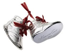kenneth cole special edition silver resin boots shoes