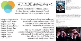 wp imdb automator v5 wordpress plugin download more features