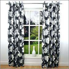 Black Floral Curtains Black And White Floral Curtains For Bedroom Black And White