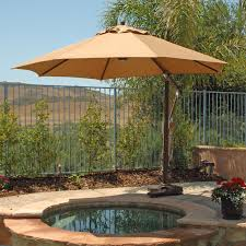 furniture furniture cream cantilever patio umbrella ideas with
