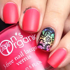 matte pink nail polish neon pink nail polish glow in the dark