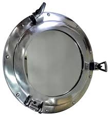Nautical Wall Mirrors Porthole Mirror Brass Port Hole Mirror Nautical Marine Wall