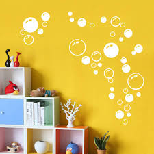 online get cheap wall stickers circle aliexpress com alibaba group modern circle bubble pattern bathroom products wall stickers home decor waterproof wallpaper blue freen orange white