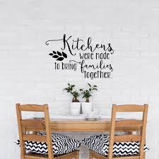 popular interior kitchen decoration buy cheap interior kitchen family interior wall decal kitchen quotes kitchens were made to bring families together vinyl wall stickers