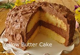 yellow butter cake recipe thebakingpan com