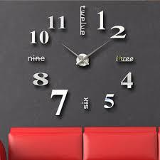 online get cheap large digital wall clock aliexpress com