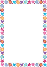 christmas border writing paper printable frames and borders