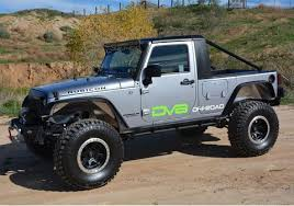 jeep truck conversion jeep jku truck conversion hammertruck by dv8 offroad